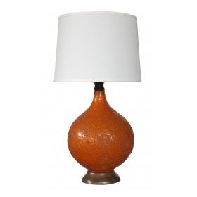 Iconic lighting Pendant Large And Iconic American 1960s Burntorange Craterglazed Lamp Twitter Iconic Lighting Epoca