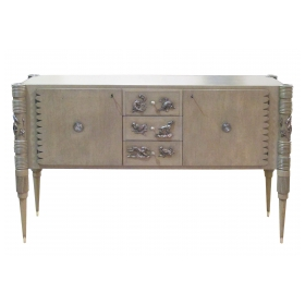 superb italian art moderne sideboard by pier luigi colli for fratelli marelli