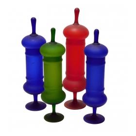 Set of Carolo Moretti for Rosenthal Satin Glass Apothecary Jars
