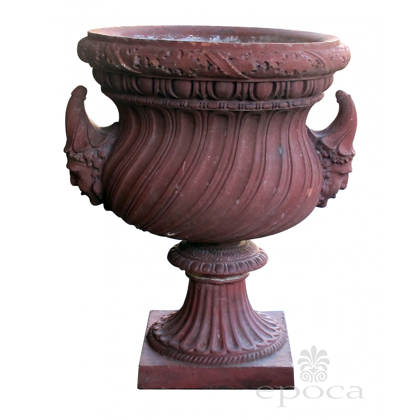 a stunning english neoclical style terra cotta garden urn with ... on garden with birdbath, garden with potted plants, garden with arches, garden with pots, garden with sculptures,