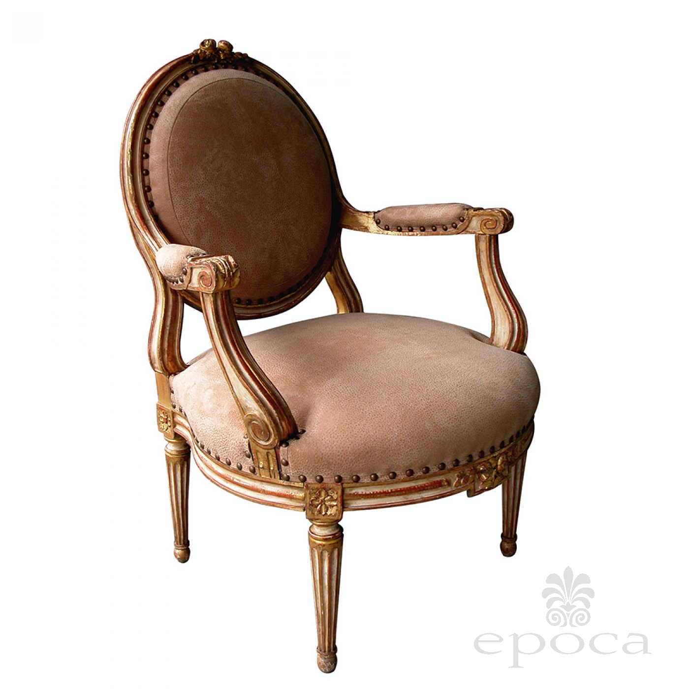 A Large Scaled And Elegant French Louis Xvi Style Ivory