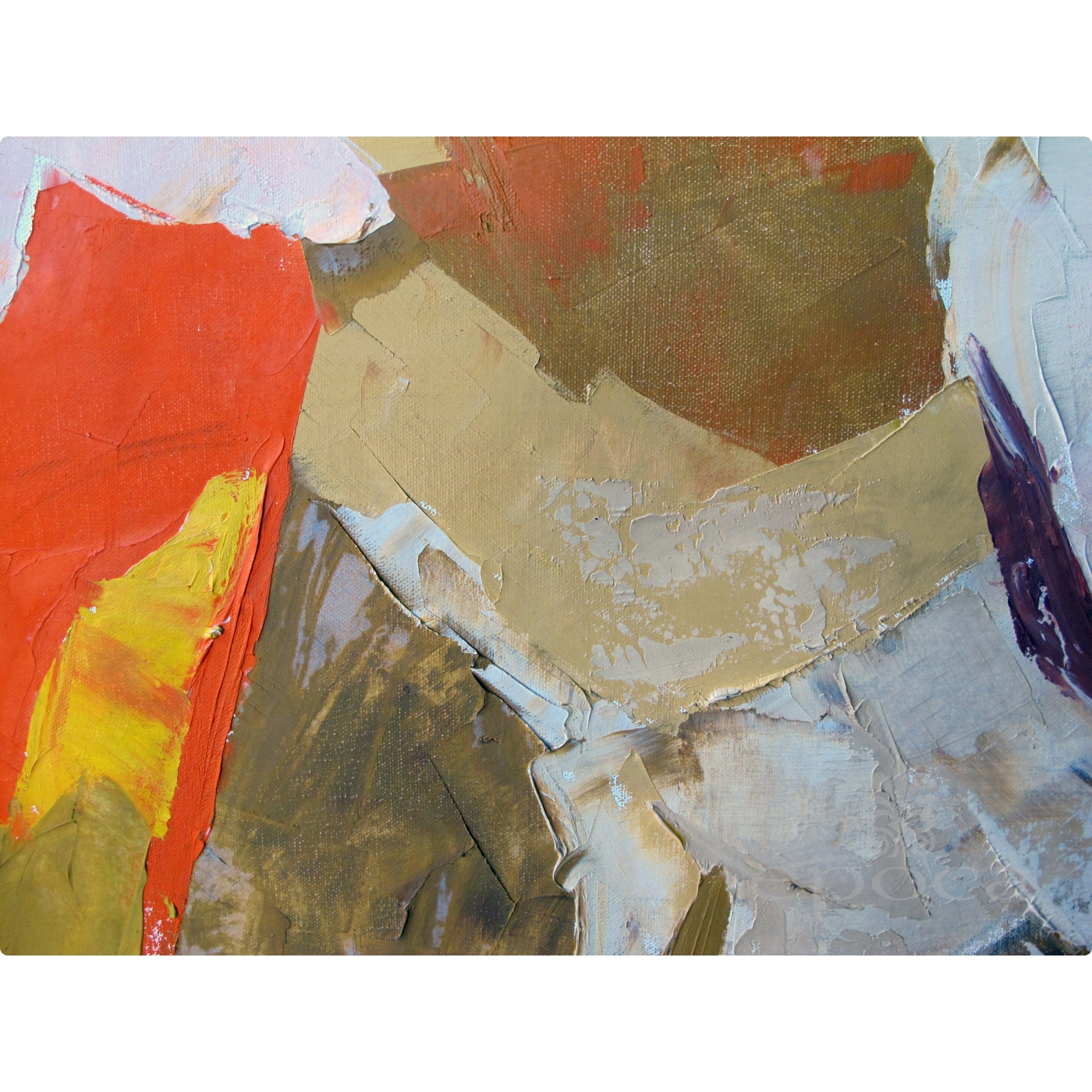 An Eloquent American 1960 S Abstract Expressionist