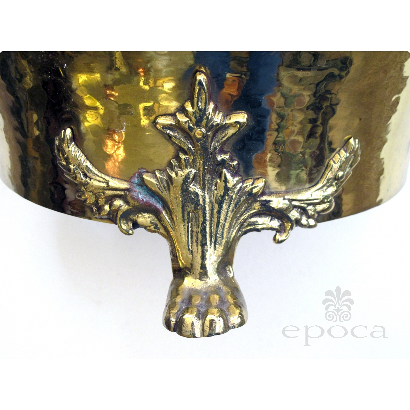 a rare and large scaled imperial russian hand hammered brass