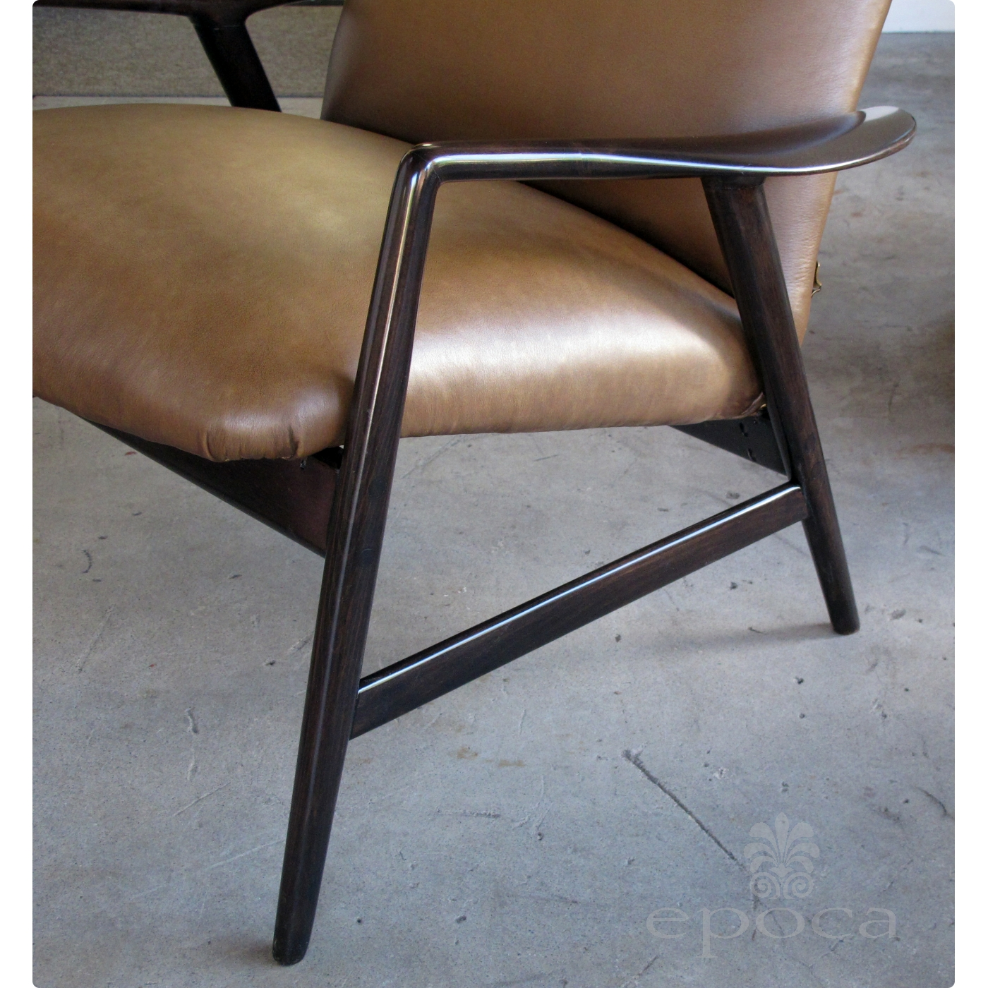 A Stylish Danish Modern Alf Svensson For Fritz Hansen 1960