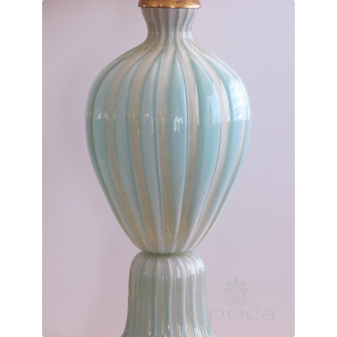 a large and good quality murano 1950's barovier & toso