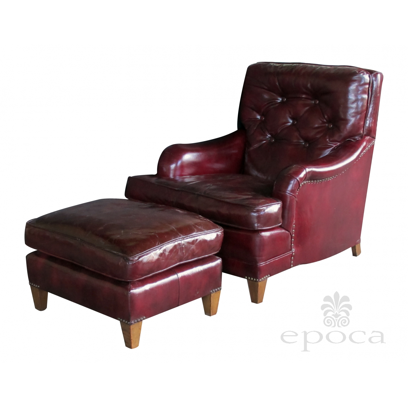 Astonishing A Handsome And Comfortable American 1940S Chesterfield Club Evergreenethics Interior Chair Design Evergreenethicsorg