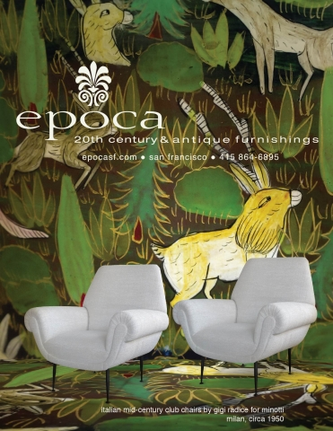 San Francisco Fall Antiques Show 2016 epoca 20th century and antiques