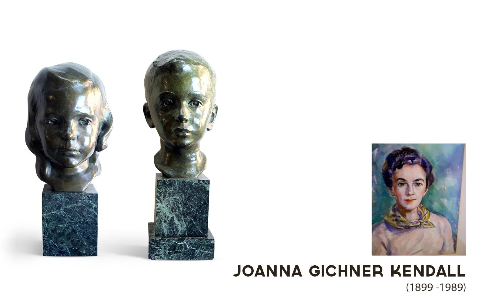 Joanna Gichner Kendall , J.G. Kendall, Sculptor 1940's.