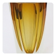 a well-executed and thickly-modeled faceted Sommerso hand-blown glass vase, made by Mandruzzato, Murano, circa 1970