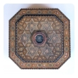 finely crafted and large middle eastern micro-mosaic marquetry inlaid octagonal lidded box