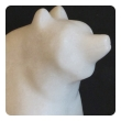 large-scaled and expressive carved marble figure of a seated red panda bear with its distinctive puffy tail large-scaled and expressive american school carved marble figure of a seated polar bear