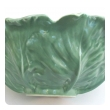 large-scaled american rookwood 1940's art pottery celadon glazed cabbage-leaf bowl