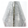 Paul Hanson 1960's clear crackle glass lamps at epoca in San Francisco