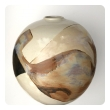 Large and Impressive Glazed Ovoid-form Pot/Vessel; signed by listed ceramicist Sasha Makovkin