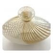 Murano 1950's Filigrana Art Glass Pillow Vase by Dino Martens for Aureliano Toso
