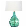 Large Murano 1950's Waterfall Drip Art Glass Lamp