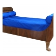 handsome and good quality pair of french empire walnut sleigh/day beds with giltwood hairy paw feet