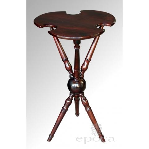 a charming english edwardian cherrywood tripod croquet table